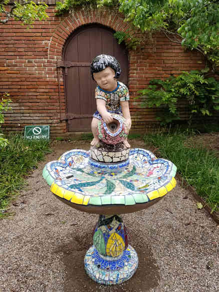 """Fish Pond"" Water Fountain - $2,500.00"