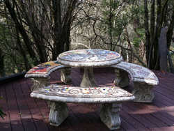 """""""The Earth"""" table set (Not for Sale)"""