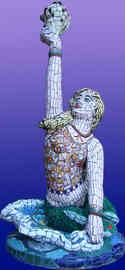 Mermaid statue (Sold)