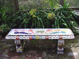 """""""Crown"""" bench (Sold)"""