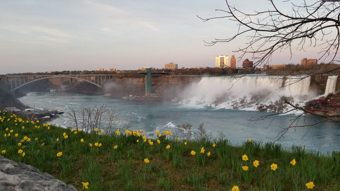 I took this picture of Niagara Falls on the Canada side from the trip in May, 2018.