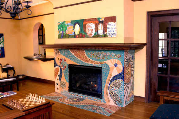 Journey of Life fireplace