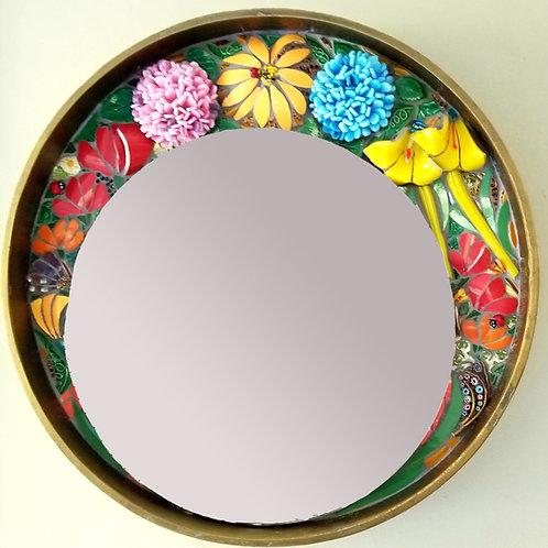 Floral Crown mirror