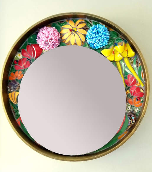 Floral Crown mirror -  $1,500.00