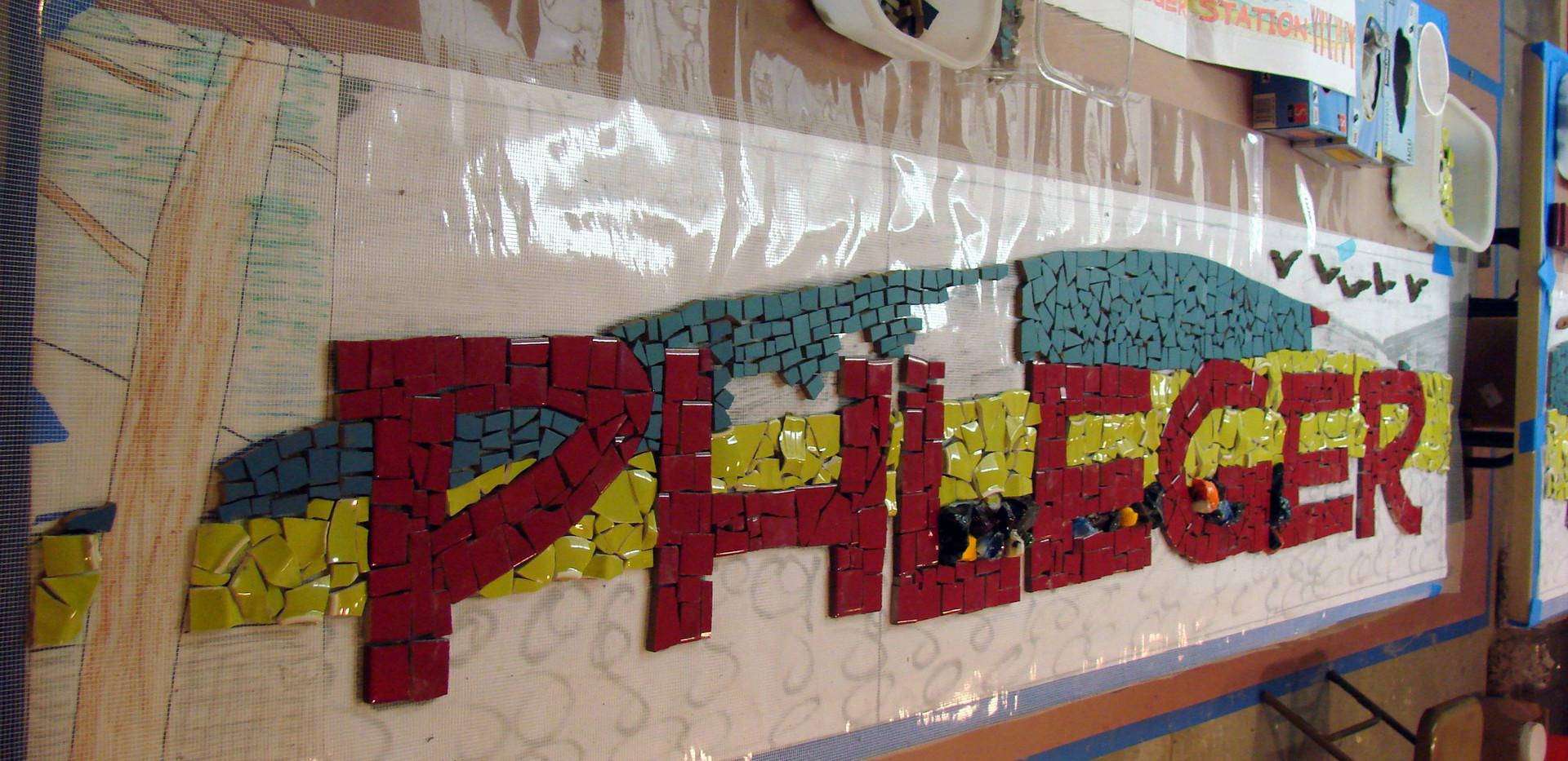 The Phleger signage