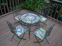 """""""Four Seasons"""" table set (Sold)"""