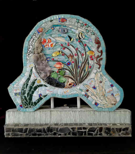 """""""Under the Sea"""" (Back side) - $4,850.00"""