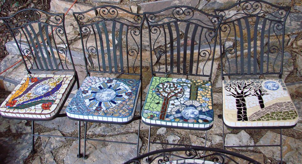 """Four Seasons"" chairs"