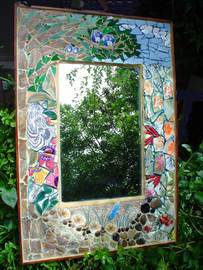 """Forest View"" mirror (Sold)"