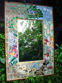"""""""Forest View"""" mirror (Sold)"""