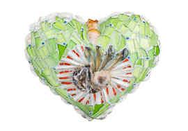"""""""Heart Delight"""" sculpture (Back Side) (Sold)"""