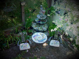 """""""Escaped Thoughts"""" table set (Sold)"""