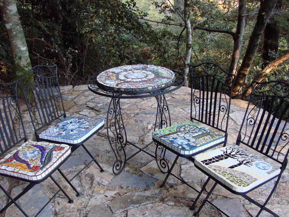 """Four Seasons"" table set"