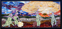 Dancing in Sunset (Sold)