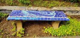 Crocodile bench