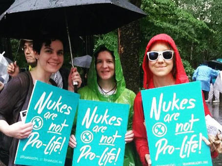 Rehumanize International Takes the Women's March to Ban the Bomb