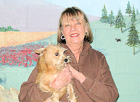 Judy Gee owner of Doggie Pause