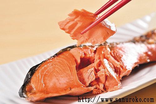 当店特選紅鮭10切(無頭)【冷凍発送】