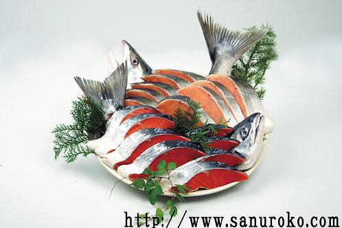 紅鮭・時鮭食べ比べセット 【冷凍発送】