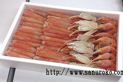 【お徳用】カット済み本ズワイ蟹脚約1.8kg【冷凍】