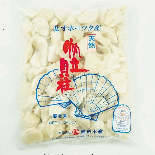 【お徳用】北海道オホーツク産 訳ありお刺身用ホタテ貝柱 1kg 【冷凍発送】