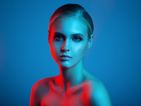 What effect does blue light have on your skin?