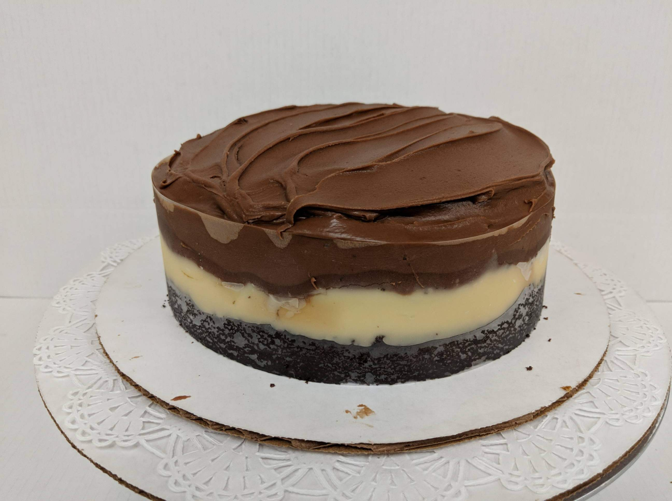 Dbl Choc Boston Cream Cake