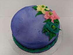 "Decor 8"" Round Cake"