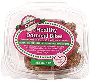 Alyssa's Oat Cookies and Healthy Oatmeal Bites