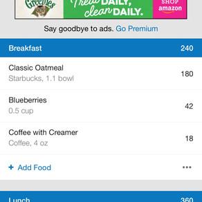My FitnessPal App