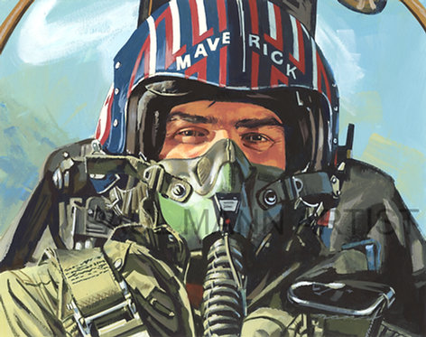 Maverick Giclee Print - Limited signed copies