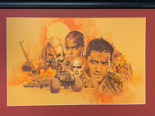 Mad Max Fury Road - Original Final Hand Painted Illustration