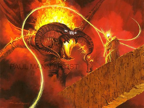 You Shall Not Pass Giclee Print - Limited signed copies