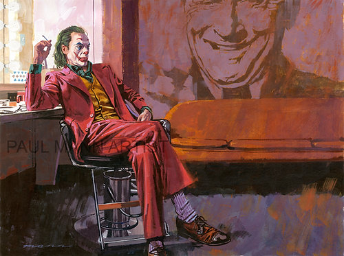 Joker Giclee Print - Limited signed copies