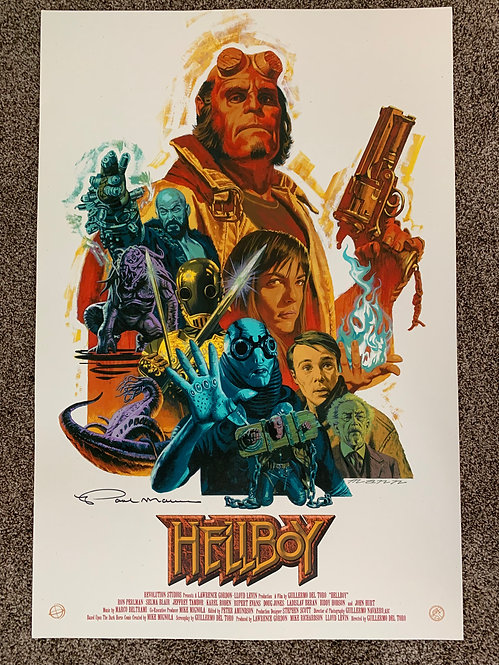 Hellboy AP - Limited Signed Copies