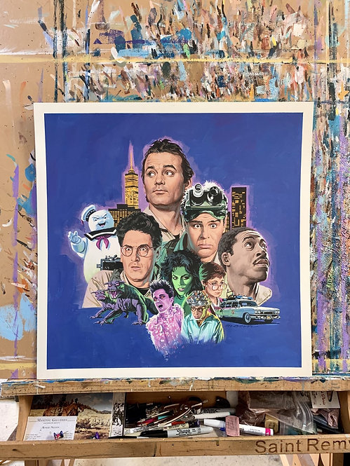 Ghostbusters - Original Final Hand Painted Illustration