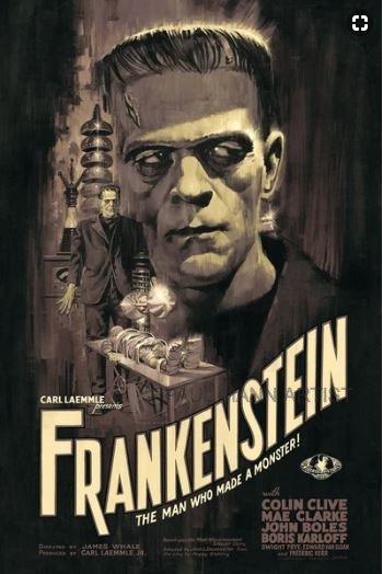 Frankenstein (Variant) AP - Limited Signed Copies