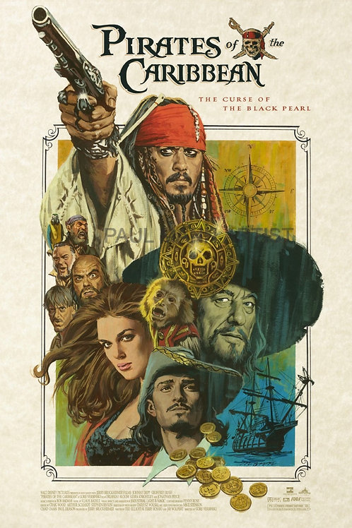 Pirates of the Caribbean AP - Limited Signed Copies