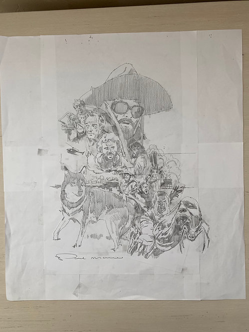 The Thing Pencil Sketch