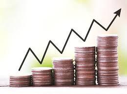 coin graph rising