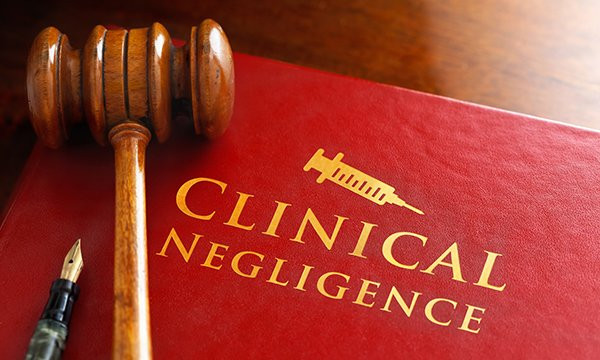 clinical negligence book image