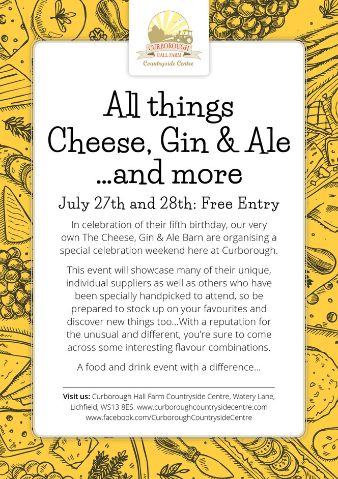 All things Cheese, Gin & Ale