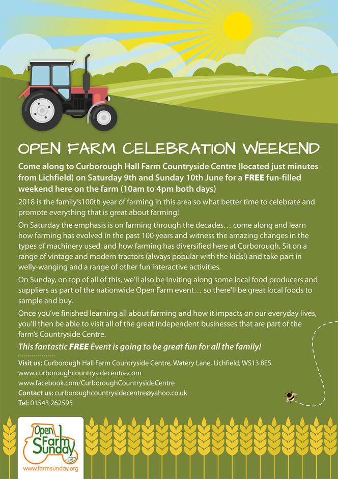 Open Farm Celebration Weekend