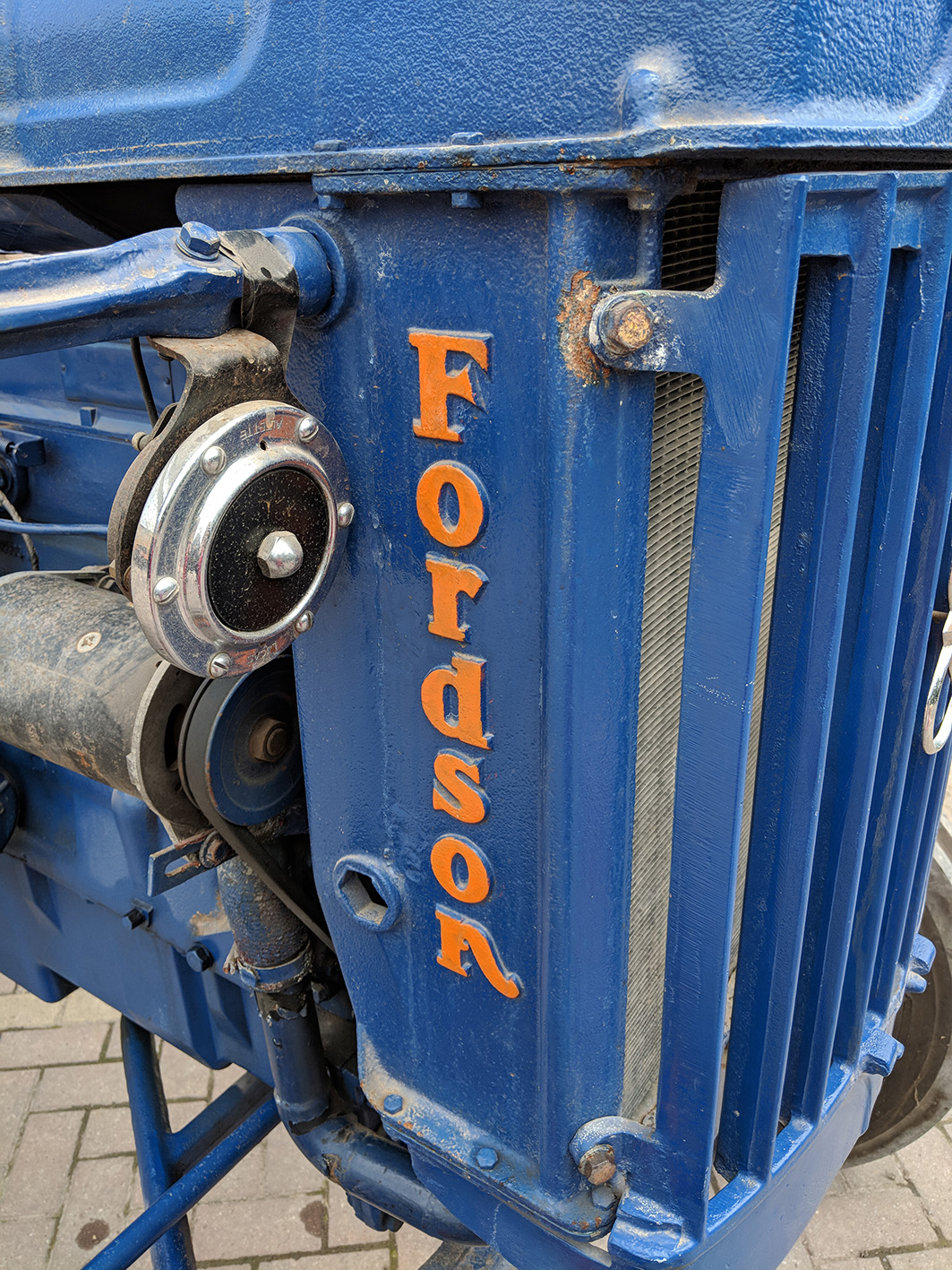 "Fordson E27N ""The Upright Major"""