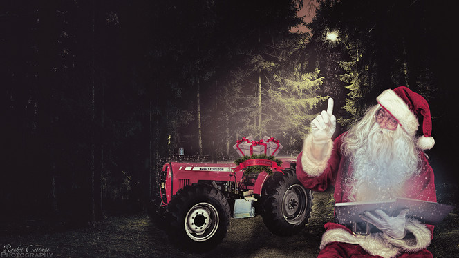 Christmas Tales from the Tractor