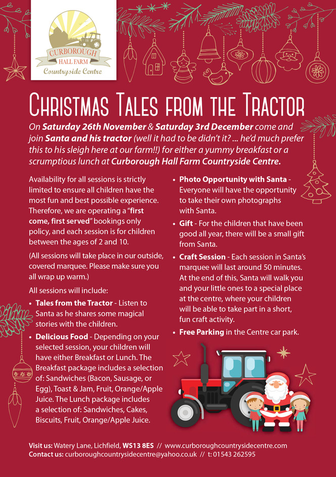 Previous Event: Christmas Tales from the Tractor
