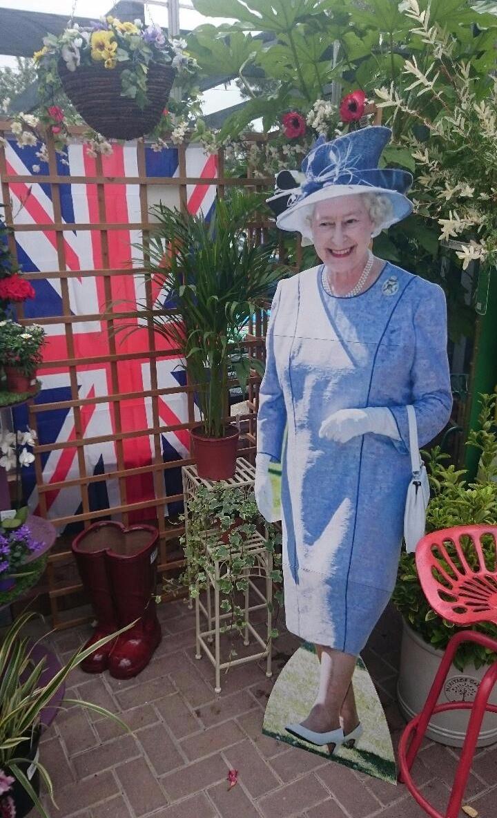 Curborough Farm Yard Party - The Queen