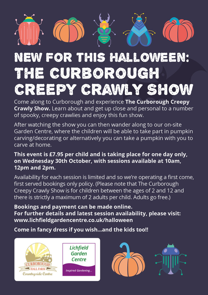 The Curborough Creepy Crawly Show