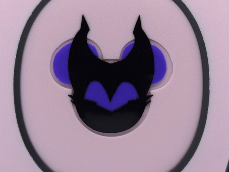 Layering Your Maleficent MagicBand Decal