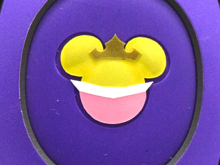 Layering Your Sleeping Beauty MagicBand Decal
